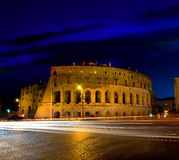 Colosseum at twilight Royalty Free Stock Image
