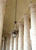 Colosseum van binnen-v-Rome Stock Afbeelding