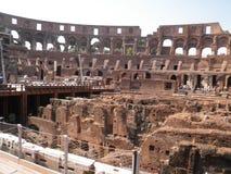 Colosseum van binnenuit Stock Afbeeldingen