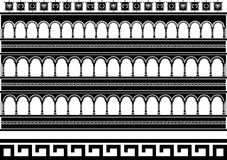 Colosseum van de fantasie Royalty-vrije Stock Foto's