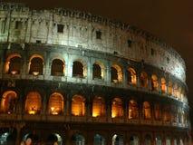 Colosseum van de nacht Stock Afbeeldingen