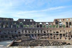 Colosseum van Rome in lazio in Italië royalty-vrije stock afbeelding