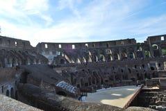 Colosseum van Rome in lazio in Italië stock afbeelding