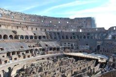 Colosseum van Rome in lazio in Italië Stock Foto