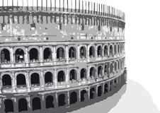 Colosseum (vector) Royalty Free Stock Image