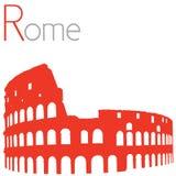 Colosseum vektorillustration Royaltyfri Bild
