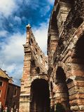 Colosseum in Verona royalty free stock photo