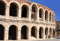 Colosseum in Verona, Italy Stock Photos
