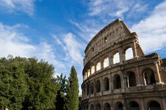 Colosseum View Stock Photography