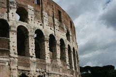 Colosseum. A Colosseum view in Rome Royalty Free Stock Image