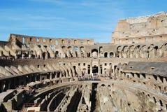 Colosseum von Rom in Lazio in Italien stockfotografie