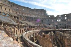 Colosseum von Rom in Lazio in Italien Stockfoto