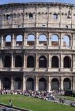 Colosseum-voor-Rome-Italië Royalty-vrije Stock Afbeeldingen