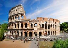 Colosseum w lecie Obraz Royalty Free