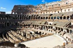 colosseum wśrodku rzymskiego obrazy stock