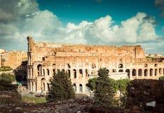 Colosseum w Rzym Zdjęcie Royalty Free