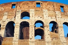 Colosseum Wall Stock Photos