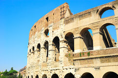 Colosseum wall Stock Images