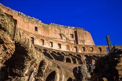 Colosseum wall Stock Image