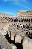Colosseum was built in the first century in Rome city. Italy. Rome. Colosseum was built in the first century AD by the Emperor Vespasian Stock Images