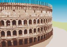 colosseum wektor ilustracji