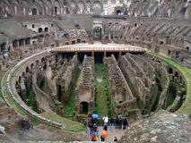colosseum wnętrze Obraz Royalty Free