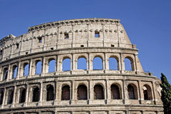 The Colosseum, the world famous landmark in Rome Royalty Free Stock Photos