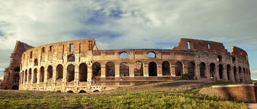 The Colosseum, world famous landmark in Rome, Italy Stock Photos