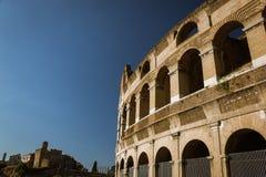 Colosseum zewnętrzne ściany obrazy stock