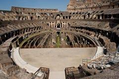 Colosseum, zone de sous-sol au-dessous de l'arène Photos libres de droits