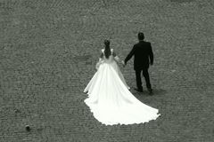 colosseumbröllop Arkivbild