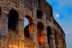 Colosseumen, aftonsikt, Rome, Italien Royaltyfri Bild