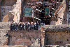 Colosseumen i Roma Arkivbilder