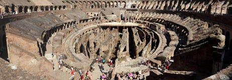 Colosseumen på Rome Arkivbilder
