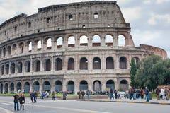 colosseumitaly rome sikt Fotografering för Bildbyråer