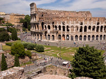 colosseumkullitaly palatine rome Royaltyfri Fotografi
