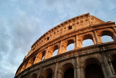 Colosseums archs Royalty Free Stock Photos