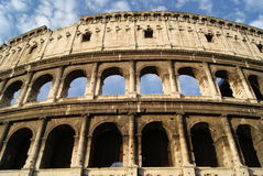 Colosseums archs during the morning Stock Photography