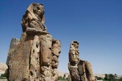 Colossi di Memnon   Fotografia Stock Libera da Diritti
