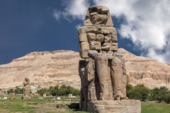 Colossi of Memno Stock Images