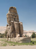 Colossi of Memnon. Near Luxor, Egypt Royalty Free Stock Images