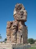 Colossi of Memnon stock image
