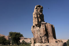 Colossi of Memnon Stock Photography