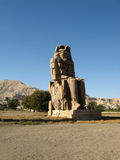 Colossi of Memnon royalty free stock photography