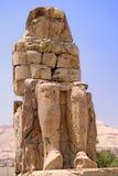 Colossi of Memnon. Image of Colossi of Memnon near Luxor, Egypt Stock Photos