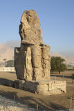 Colossi of Memnon in Egypt Royalty Free Stock Images