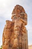 The Colossi of Memnon in Luxor Stock Image