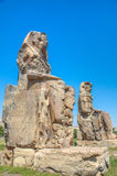 The Colossi of Memnon, Luxor, Egypt Stock Photography