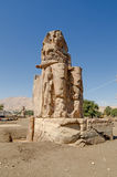 The Colossi of Memnon in Luxor, Egypt Royalty Free Stock Photo