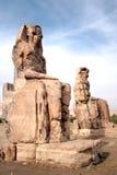 Colossi van Memnon stock afbeeldingen
